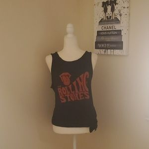The Rolling Stones Tounge Muscle Tank Top